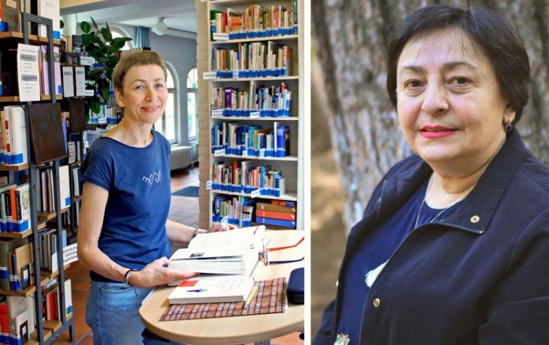 otomontaže (iš kairės): Rūta Jonynaitė (2016©EUK) ir Nana Devidzė (nuotrauka iš asm. archyvo)