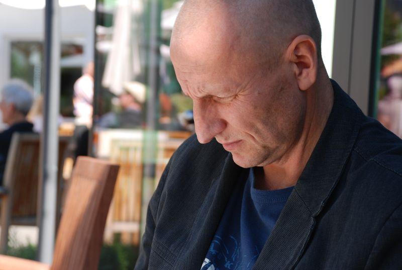Sigitas Parulskis. Ritos Valiukonytės nuotrauka