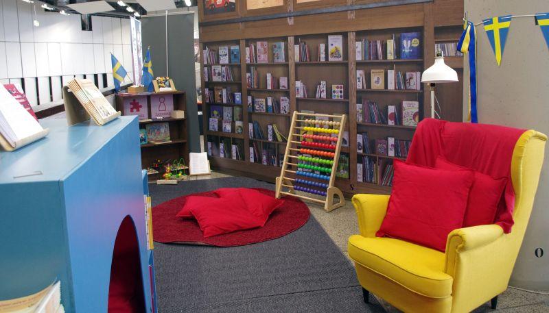 Vaikų erdvė Vilniaus knygų mugėje