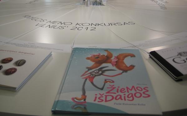 Knygos meno konkursas ''Vilnius 2012''. Nuotr. Jūratės Pocienės